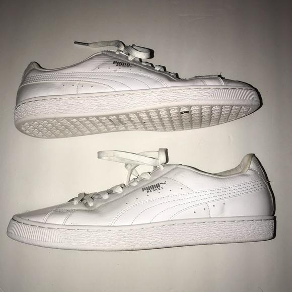 puma heritage basket classic sneakers